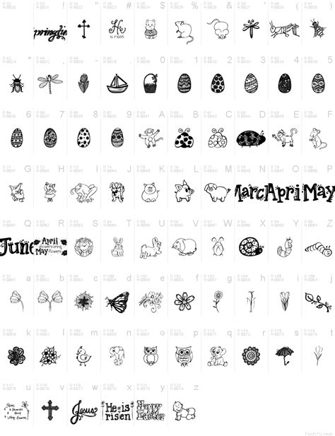 free doodle font for mac janda doodles font