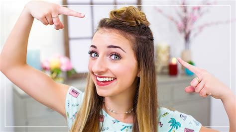 how to do model hairstyles brooklyn s diy triple top knots 2 minute hairstyles