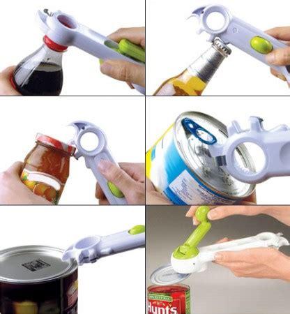 Pembuka Botol Dan Kaleng 7in1 Kitchen Can Do jual pembuka kaleng multi fungsi 6 way opener aneka