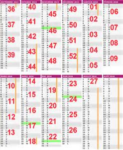 Calendrier Des Semaine 2014 192 Noter Que Nos 233 L 232 Ves Auront Cours Quatre Mercredi Apr 232 S