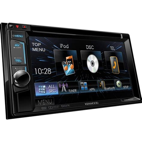 Auto Mit D by Kenwood Ddx 4015bt Din Multimedia Unit With