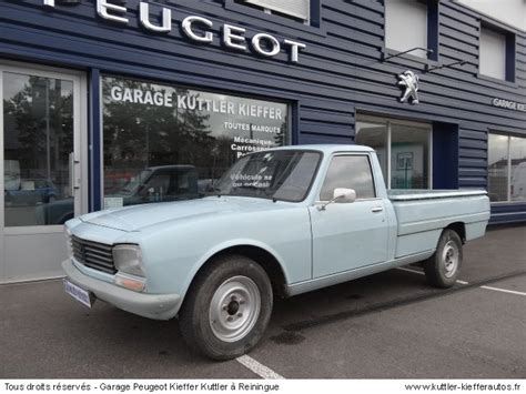 peugeot 504 pickup peugeot 504 pick up 1984 occasion auto peugeot 504