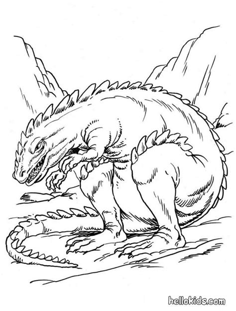scary ankylosaurus coloring pages hellokids com