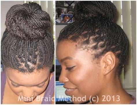 the mini braid method full bun tutorial mini braids for a night out the mini