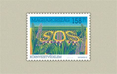 Perangko Magyar Posta 019 k 214 rnyezetv 201 delem b 233 lyeg st