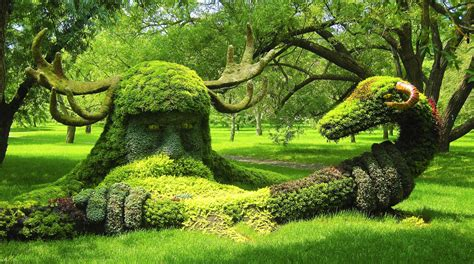 Botanic Garden Montreal Botanical Garden Canada World For Travel