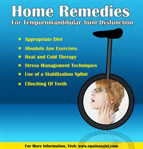 home remedies for temporomandiblar joint dysfunction