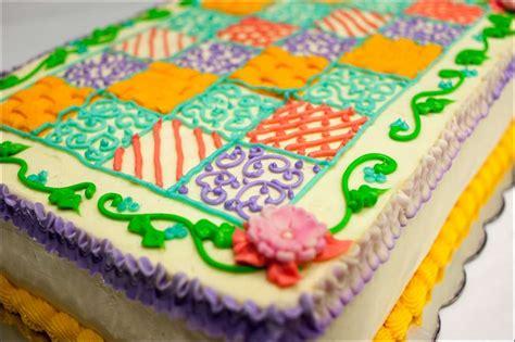 Quilt Cake by Quilt Inspired Cake Gray Barn Baking