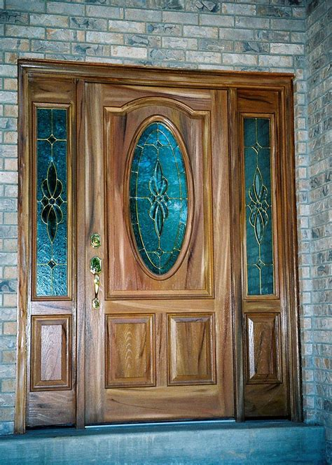 Fibre Glass Door by Refinished Fiberglass Door With Side Panels