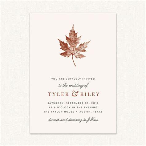 Unique Wedding Invitations Autumn by Wedding Catalogue Wedding Invitations Stationery