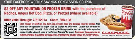 cineplex food coupons save at the movies 3 off nachos at regal cinemas 2