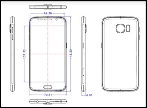 4 X2483 Samsung Galaxy A3 2017 Print 3d samsung galaxy s6 sketches leak revealing its dimensions