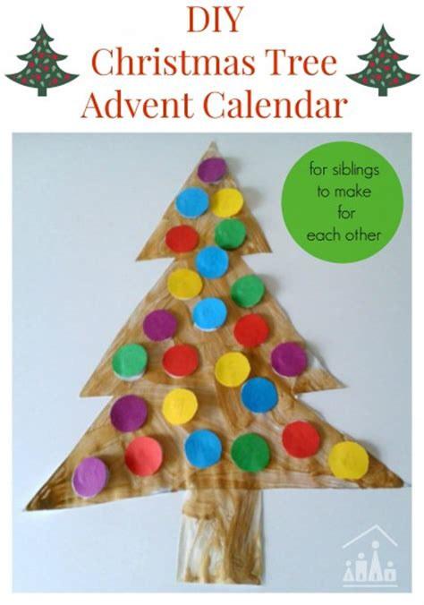 calendars for to make diy tree advent calendars crafty at home