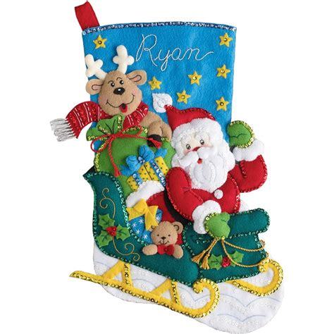 felt applique kits santa claus felt applique kits page two