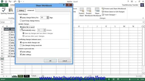 tutorial youtube excel 2013 excel 2013 tutorial sharing workbooks microsoft training