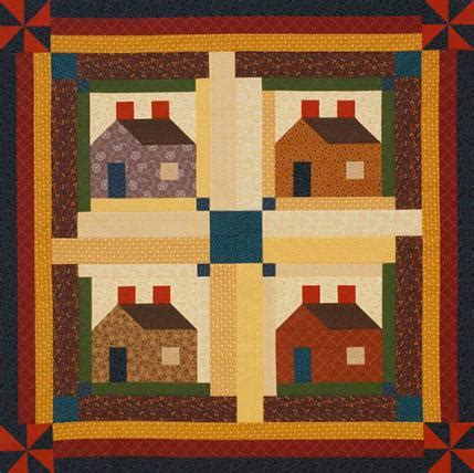 quilt pattern house free log cabin quilt patterns allpeoplequilt com