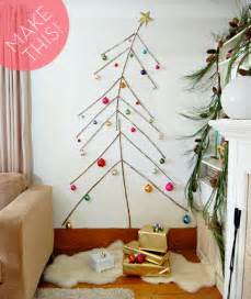 Twig Tree Home Decorating by Make It A Space Saving Diy Twig Christmas Tree 187 Curbly