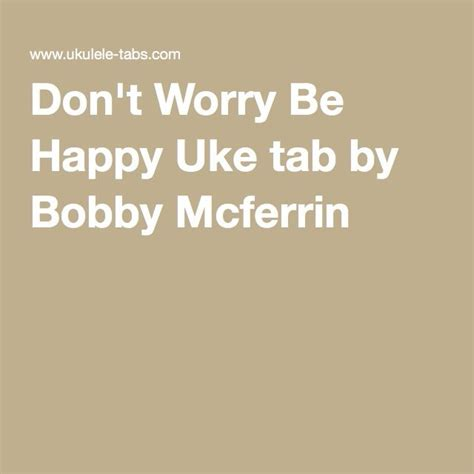 ukulele tutorial don t worry be happy 17 best images about ukulele on pinterest ukulele tabs