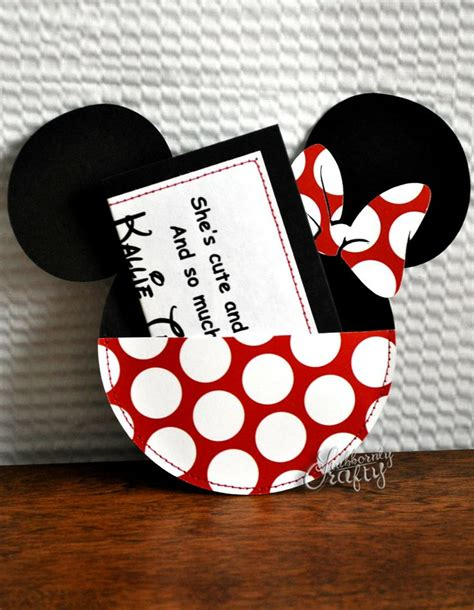 Minnie Mouse Handmade Invitations - reserved for christinebryson custom and white polka