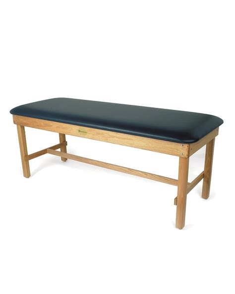 therapy tables premium oak treatment table by dynatronics medline capital