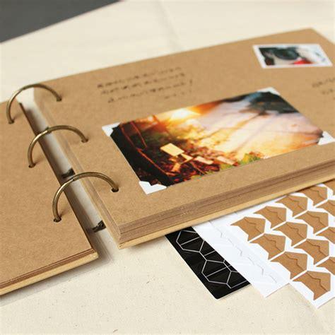 Wedding Album Express by Aliexpress Buy A4 Ring Binder Photo Album Kraft