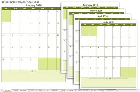 15 month calendar template 15 free monthly calendar templates smartsheet