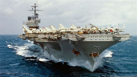 those prongs on the front of aircraft carriers and why