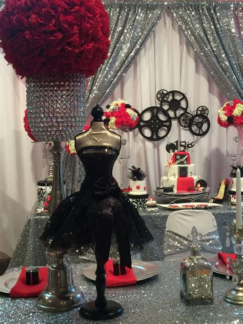 quinceanera themes hollywood hollywood quincea 241 era party ideas birthdays sweet 16
