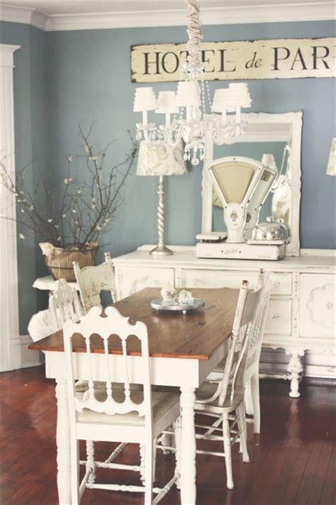 french shabby chic dining room pictures