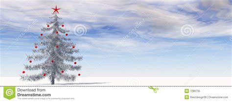 high resolution 3d christmas tree royalty free stock photo