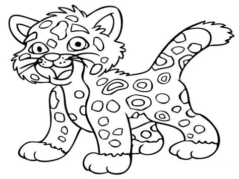 coloring pages free cute animal coloring pages printable