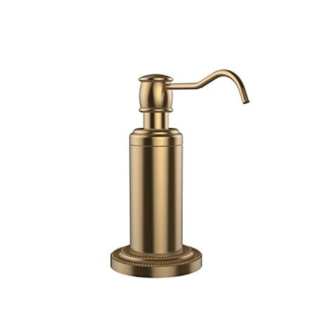 oil rubbed bronze bathroom soap dispenser allied brass dt 61 orb free standing soap dispenser oil