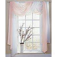 how do you drape a window scarf imagine in silver and purple the new master bedroom