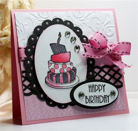 Happy Birthday Handmade Cards - happy birthday card greeting card handmade card