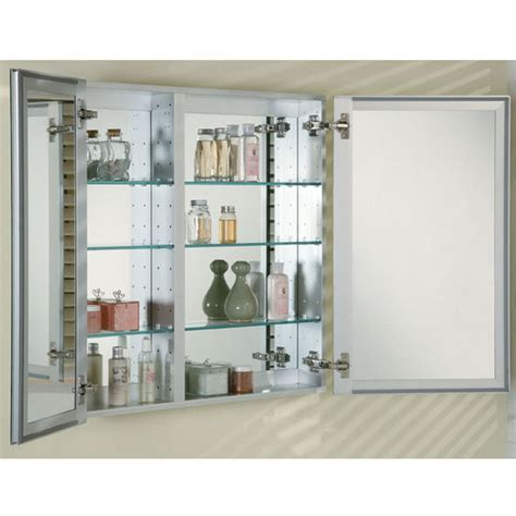 Medicine Cabinets   Broadway Double Door Recessed Medicine