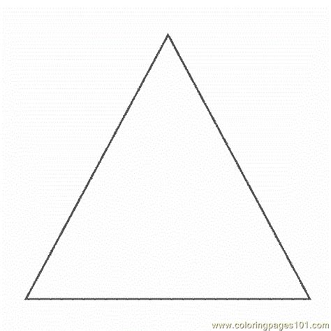 printable shapes triangle free coloring pages of trapezoid shapes