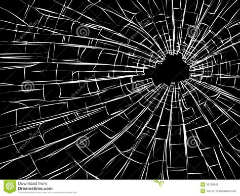 how to rejoin broken glass radial cracks on broken glass vector illustration cartoon