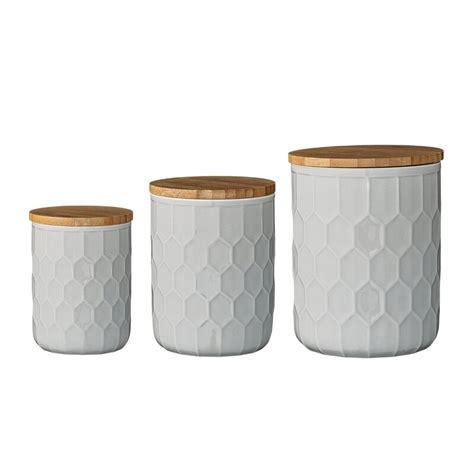 mint pantry scandinavian  piece kitchen canister set