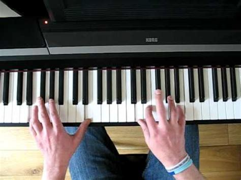 tutorial piano keane how to play somewhere only we know by keane phim video clip