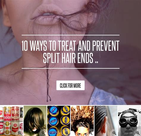 10 Ways To Treat And Prevent Split Hair Ends by 10 Ways To Treat And Prevent Split Hair Ends