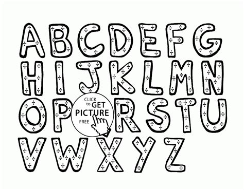 kids abc coloring pages alphabet printable abc kids toys