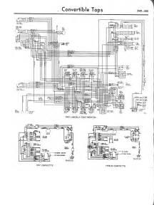 57 convertible wiring harness conv top trifive com 1955