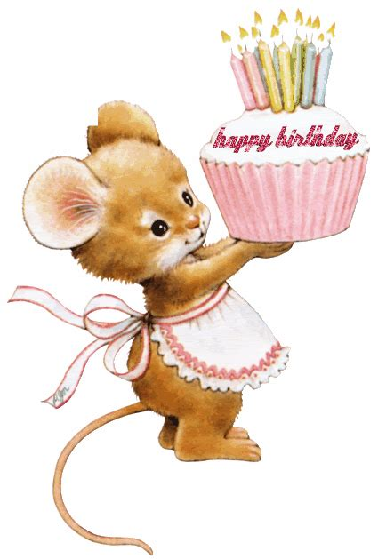 Mouse Happy Bird Q5 image of happy birthday ruthann search friends happy birthday and