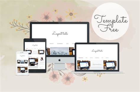 online blog layout design layouts free para blogger simples bella