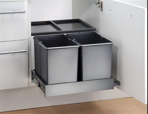 keukenkast afvalbak afvalbak keuken de handigste oplossingen