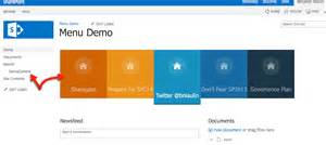 2013 sharepoint templates build a sharepoint search driven animated menu sharegate
