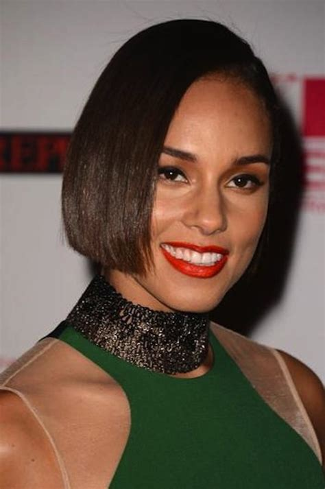 alicia keys new haircut what about 31 bobs the chic site