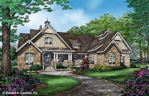 Donald A Gardner Architects rustic home plan plan of the week houseplansblog