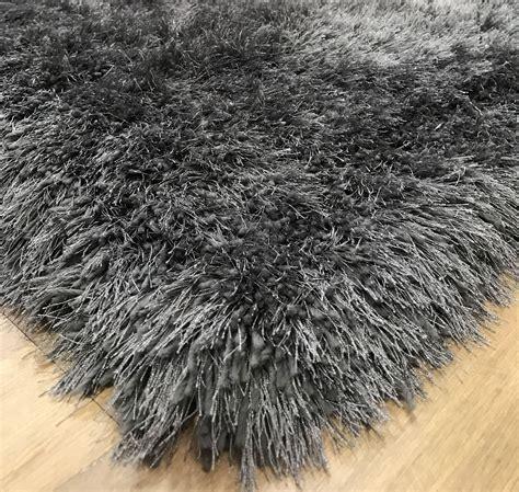 grey shag pile rug rrp 163 249 99 9cm plush mink beige silver grey thick shaggy pile soft rug ebay