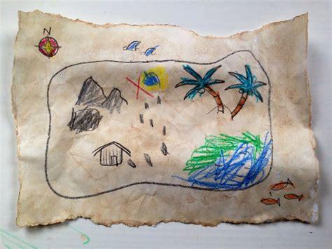 map crafts for treasure map treasure map craft treasure